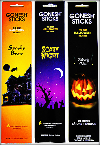 Gonesh Halloween Incense Collection