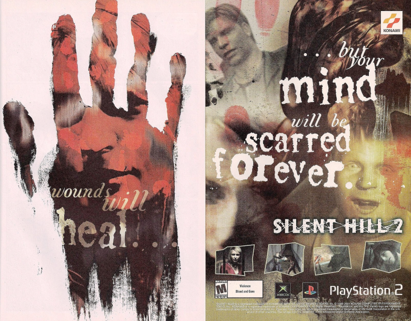 Silent Hill 2 Comic Book Ad