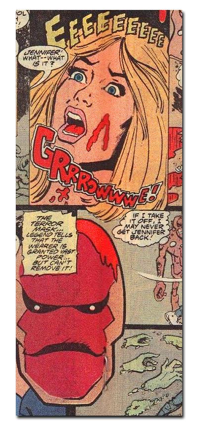 Splatterhouse Comic Ad