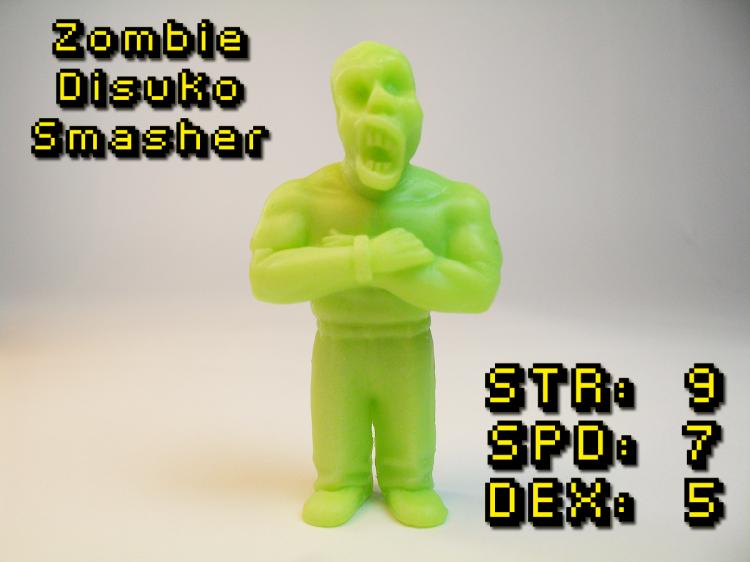 Zombie Disuko Smasher 2-1