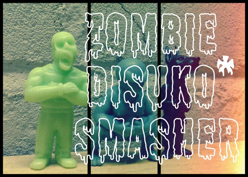 Zombie Disuko Smasher Teaser Figures 2