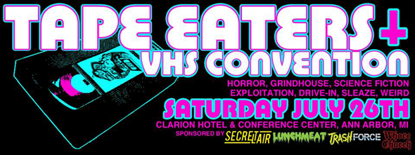Tape Eaters Poster 3
