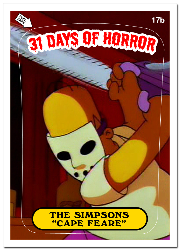 31 Days of Horror Day 17