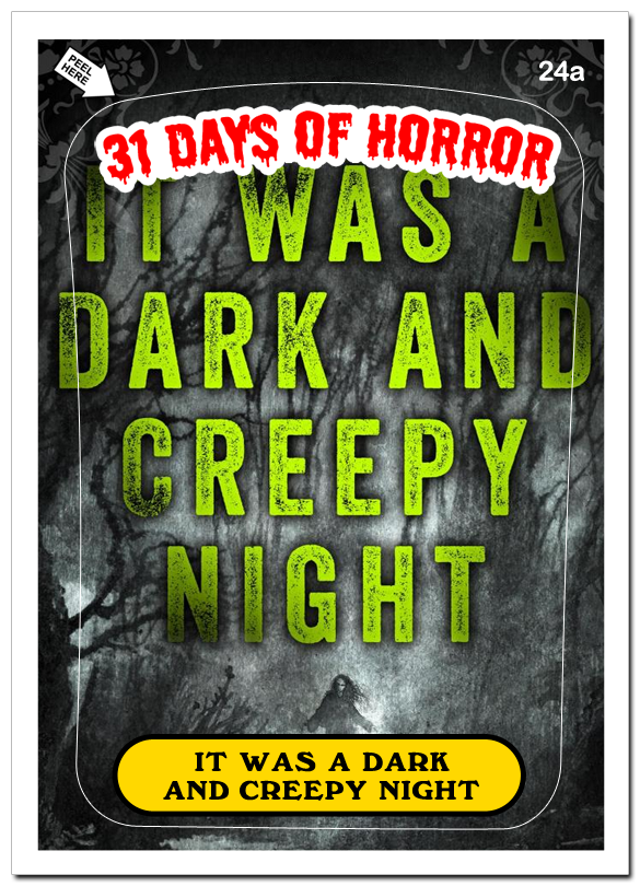 31 Days of Horror Day 24
