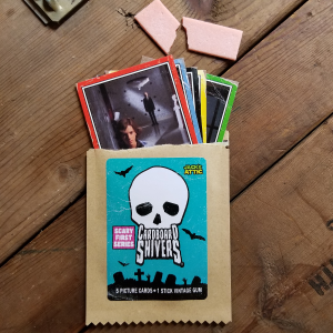 Cardboard Shivers - Retro inspired, horror movie trading cards.